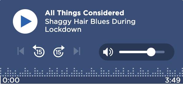 Shaggy Hair Blues During Lockdown