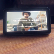 The VoiceBot Chronicles Wins a Webby Award
