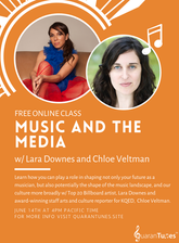 Quarantunes Masterclass   Music and the Media