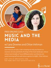 Quarantunes Masterclass | Music and the Media