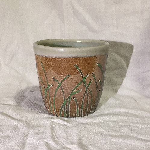 Grass Candle Holder