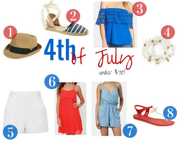 fourth of july wardrobe picks
