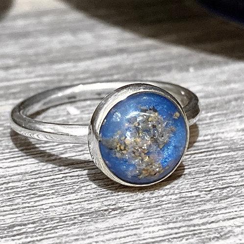 Sterling Silver Memorial Ring