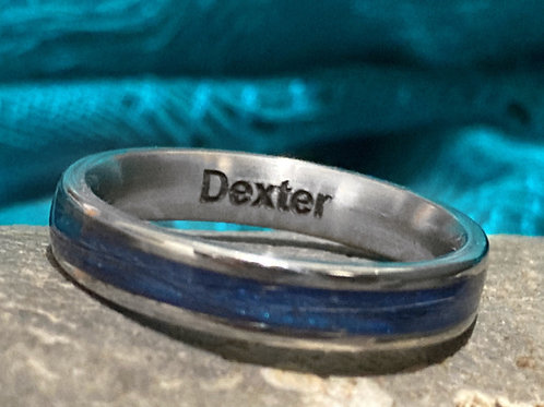Engraving on the inside of a ring