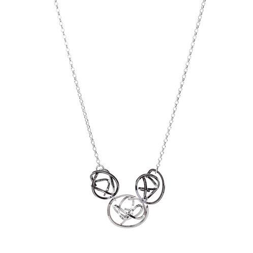 Tangle Trio Necklace