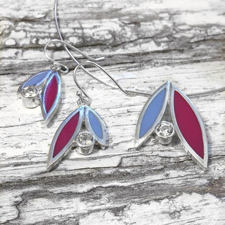 New earrings and pendants now available.