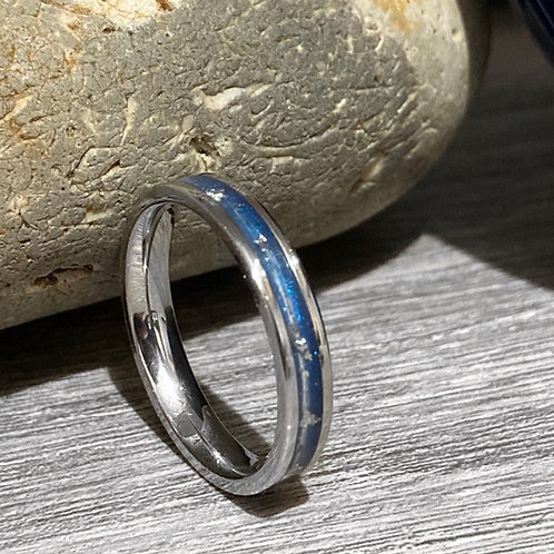 3.4mm wide horsehair ring