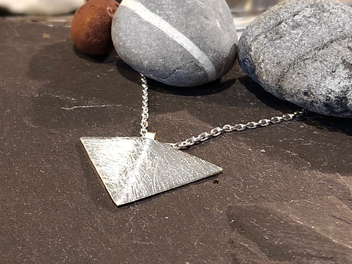 Folded Triangle Pendent