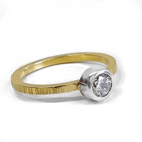 9ct Gold 0.25ct Diamond ring