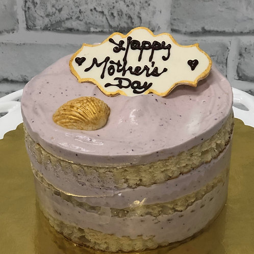 Mother's Day Cake with Blueberry Lemon Curd