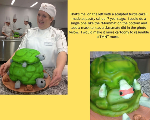 LMP with turtle sculpture cake.jpg