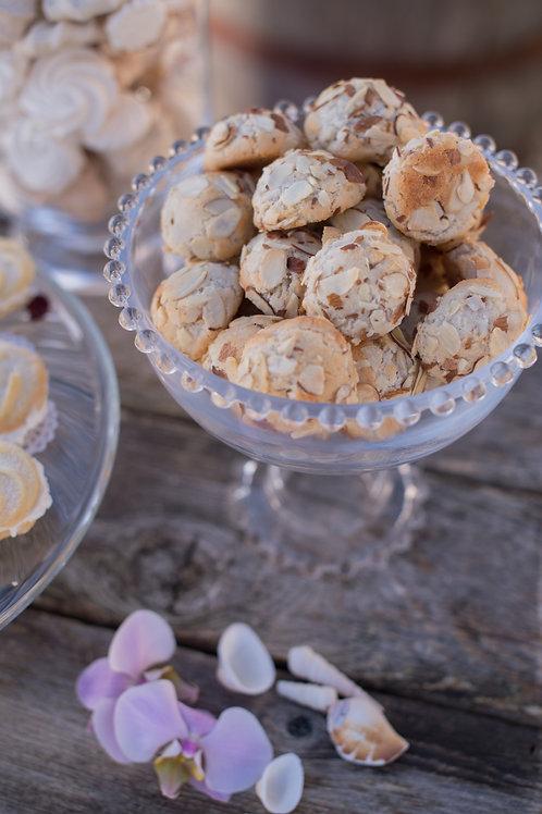 Almond Cloud Cookies, dozen