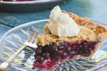 Maine Blueberry Pie