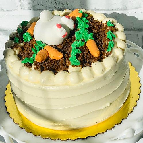 Bunny in the Garden Cake