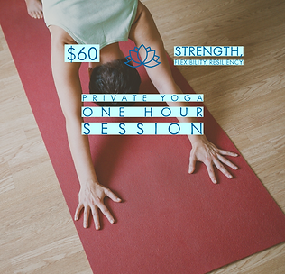 Sixty Minute Private Yoga Session