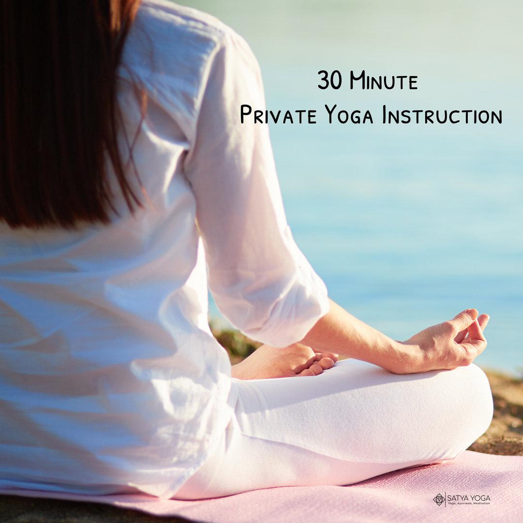 30 Minute Private Yoga