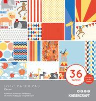 Circus 12x12 Paper Pad