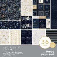 "Starry Night 6.5"" Paper Pad"