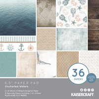 """Uncharted Waters 6.5"""" Paper Pad"""