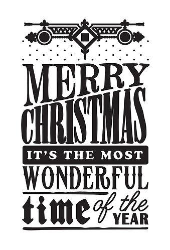 Christmas Wonder Embossing Folder