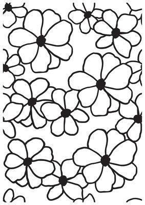 Embossing Folder- Flowers