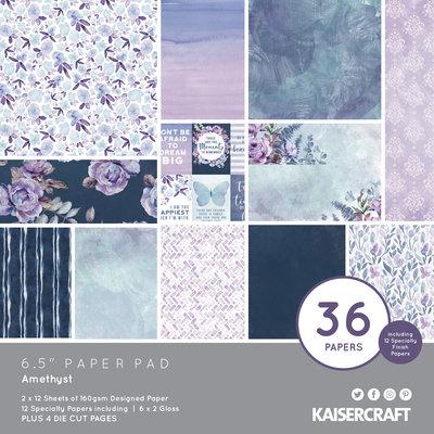 "Amethyst 6.5"" Paper Pad- Kaisercraft"