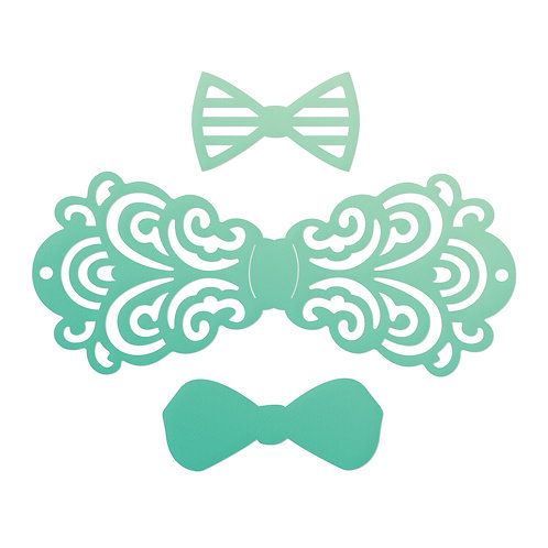 Filigree Bow Tie Set Die- Gentleman's Emporium