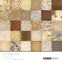 Timeless Classic 12x12 Paper Pad