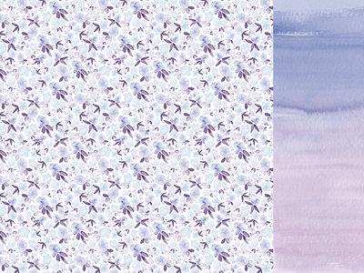 Opal 12x12 Paper- Amethyst Kaisercraft
