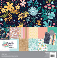 Paisley Days Paper Pack with Bonus Stickers