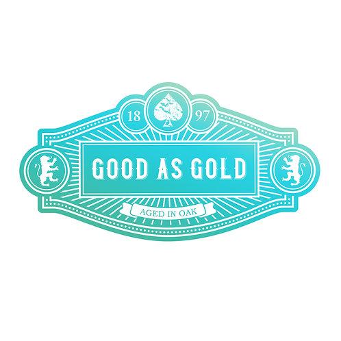 Good As Gold Sentiment Mini Stamp- Gentleman's Emporium