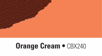 Chocolate Box Paper- Orange Cream
