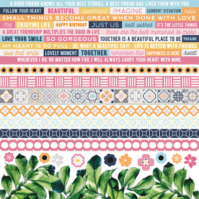 Havana Nights Sticker Sheet