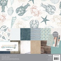 Uncharted Waters Paper Pack with Bonus Stickers