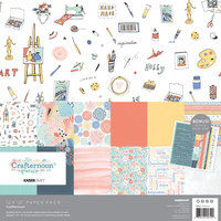 Crafternoon Paper Pack with Bonus Stickers