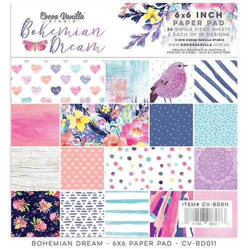 Bohemian Dreams 6 X 6 Paper Pad