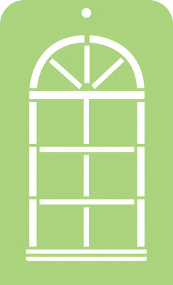 Mini Designer Template- Arch Window
