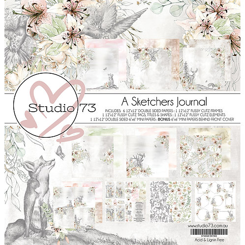 Studio 73 A Sketchers Journal- Collection Set