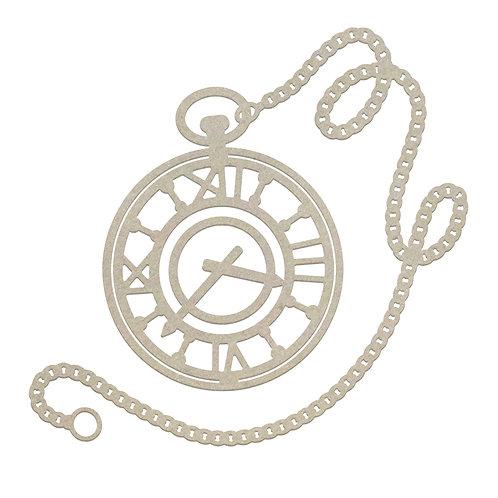 Pocket Watch Chipboard- Gentleman's Emporium