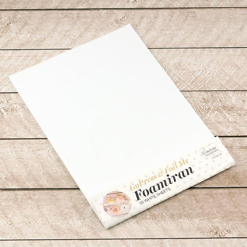 Foamiran Flower Making Sheets- White
