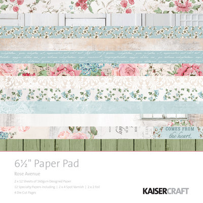 "Rose Avenue 6.5"" Paper Pad"