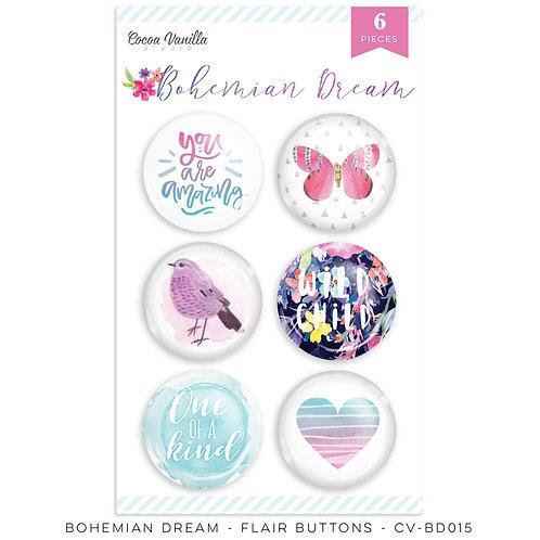 Bohemian Dreams Flair Buttons