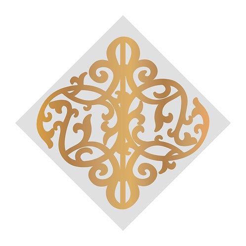 Gentleman's Tile Mini Cut, Foil & Emboss Die- Gentleman's Emporium