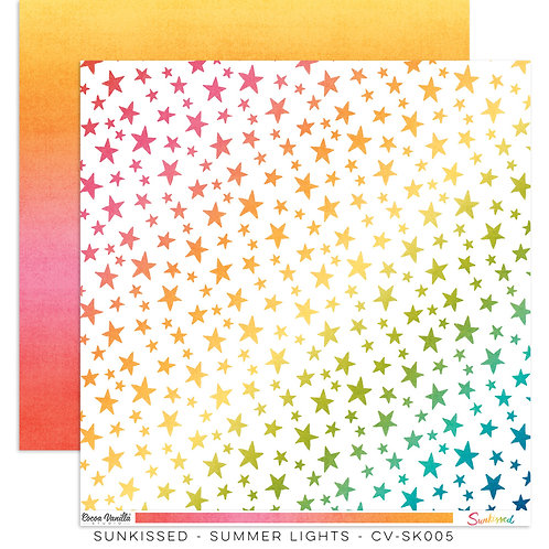 Summer Lights 12x12 Paper