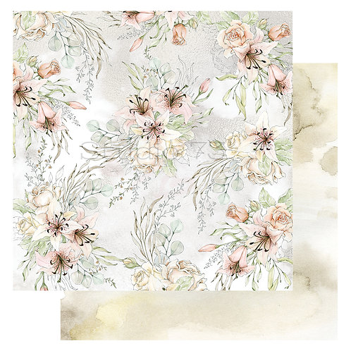 Divine Floral 12x12 Paper- Studio 73