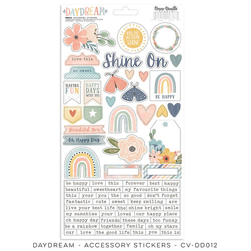 Daydream Accessory Sticker Sheet