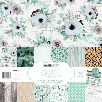 Mint Wishes Paper Pack with Bonus Sticker Sheet