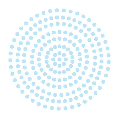 Premium Adhesive Gemstones- Powder Blue