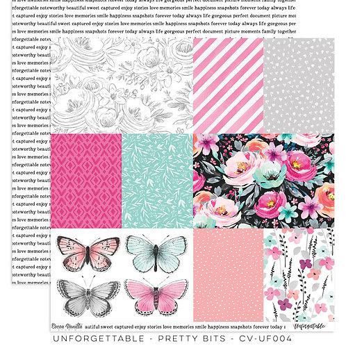 Pretty Bits 12x12 Paper- Cocoa Vanilla Studio