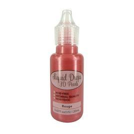 Liquid Drops 3-D Pearls- Rouge
